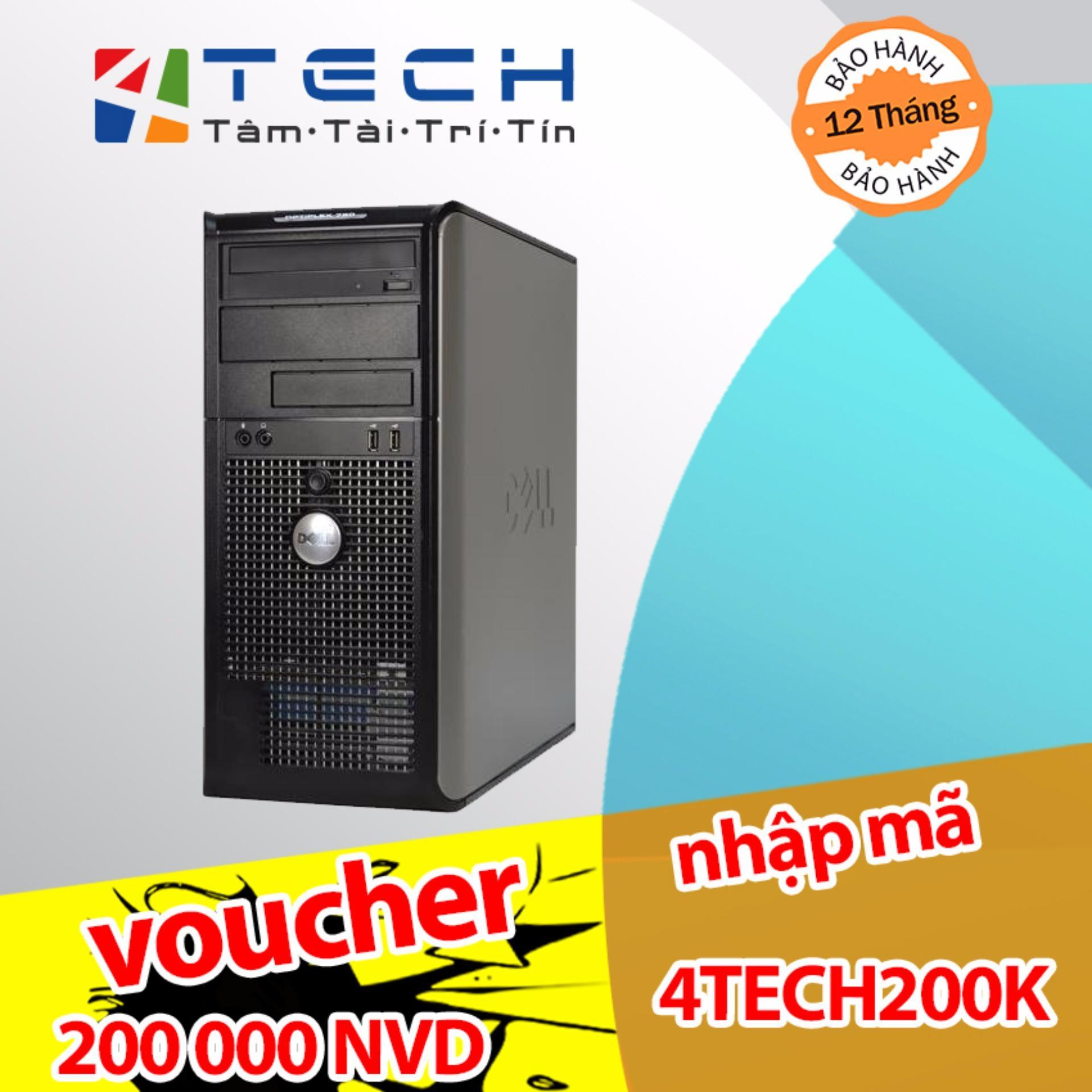 Hình ảnh Máy Bộ Chuyên Game 4TechGD780MT Q9400 2.66Ghz(6MB Cache, 4 lõi thực), Ram 4GB, HDD 500GB, Card GT-730 2GB DDR5.