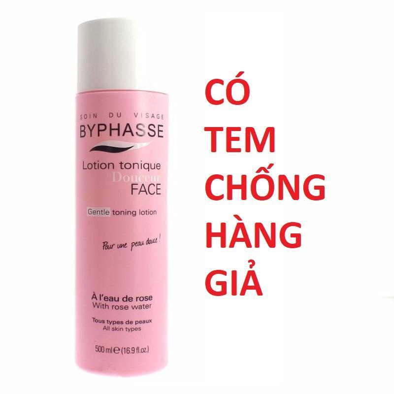 Nước Hoa Hồng Byphasse Lotion tonique - 500ml - HÀNG CHÍNH HÃNG cao cấp