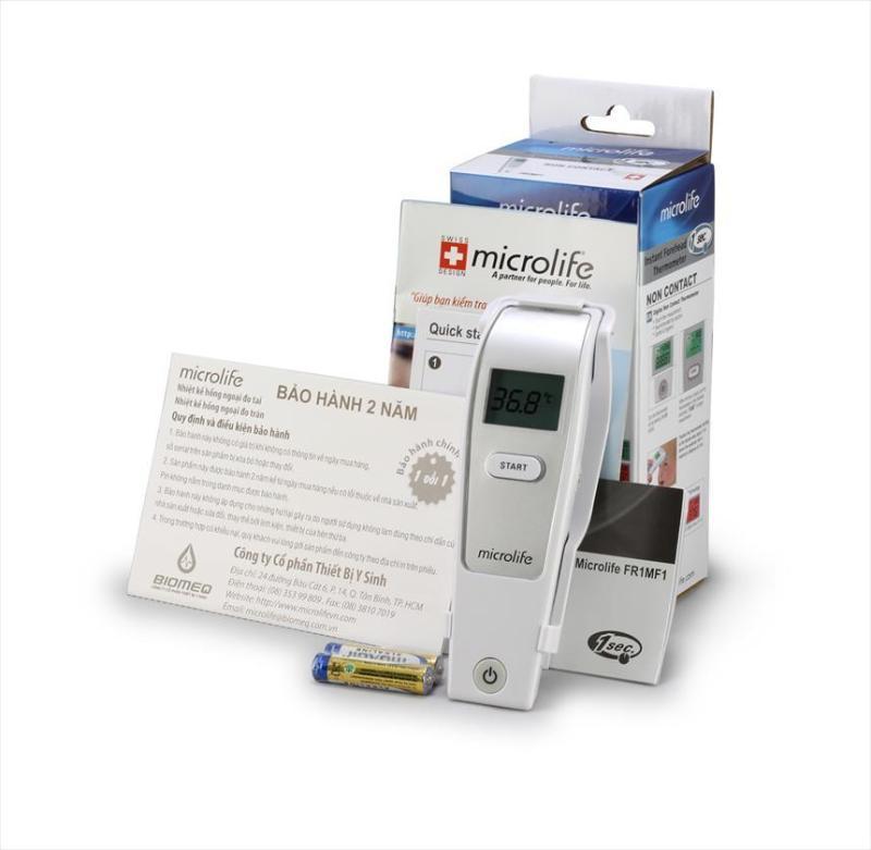 Nhiệt kế đo trán hồng ngoại Microlife FR1MF1 - BH 2 năm (Đo trong 1s) bán chạy