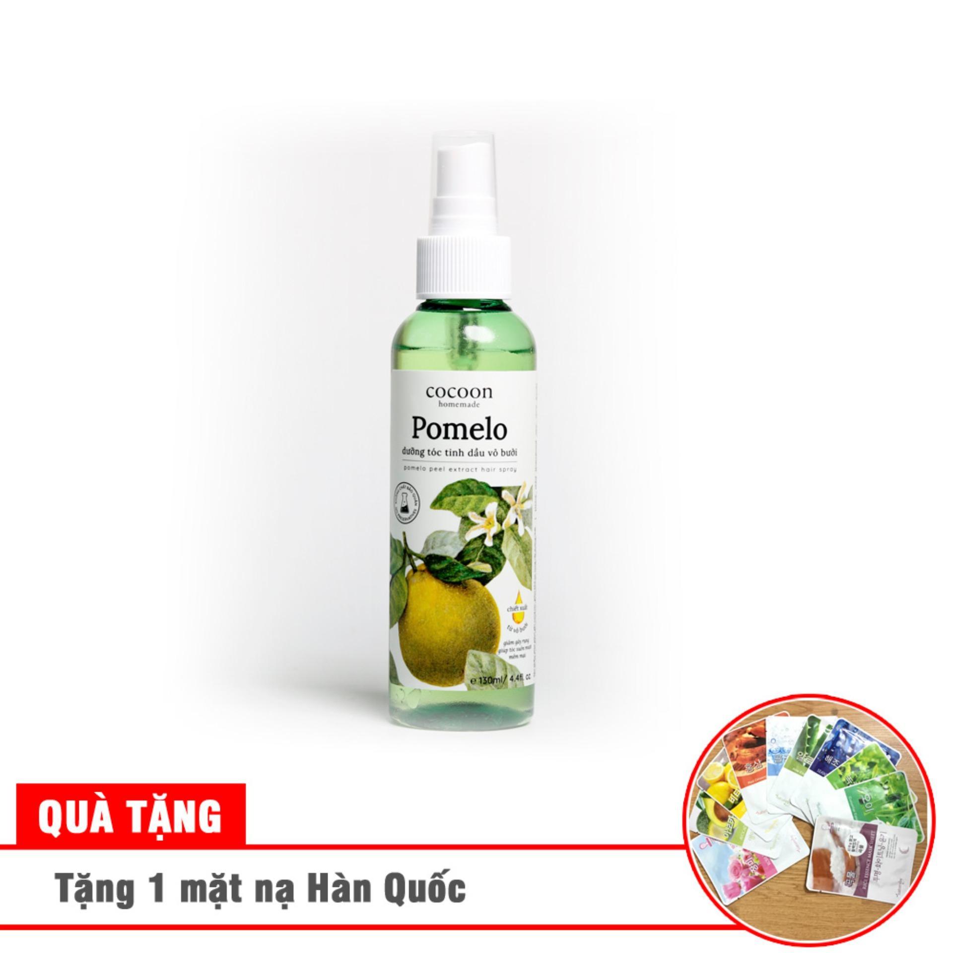 Tinh dầu bưởi chống rụng tóc, giúp mọc tóc pomelo 130ml Tặng 1 son