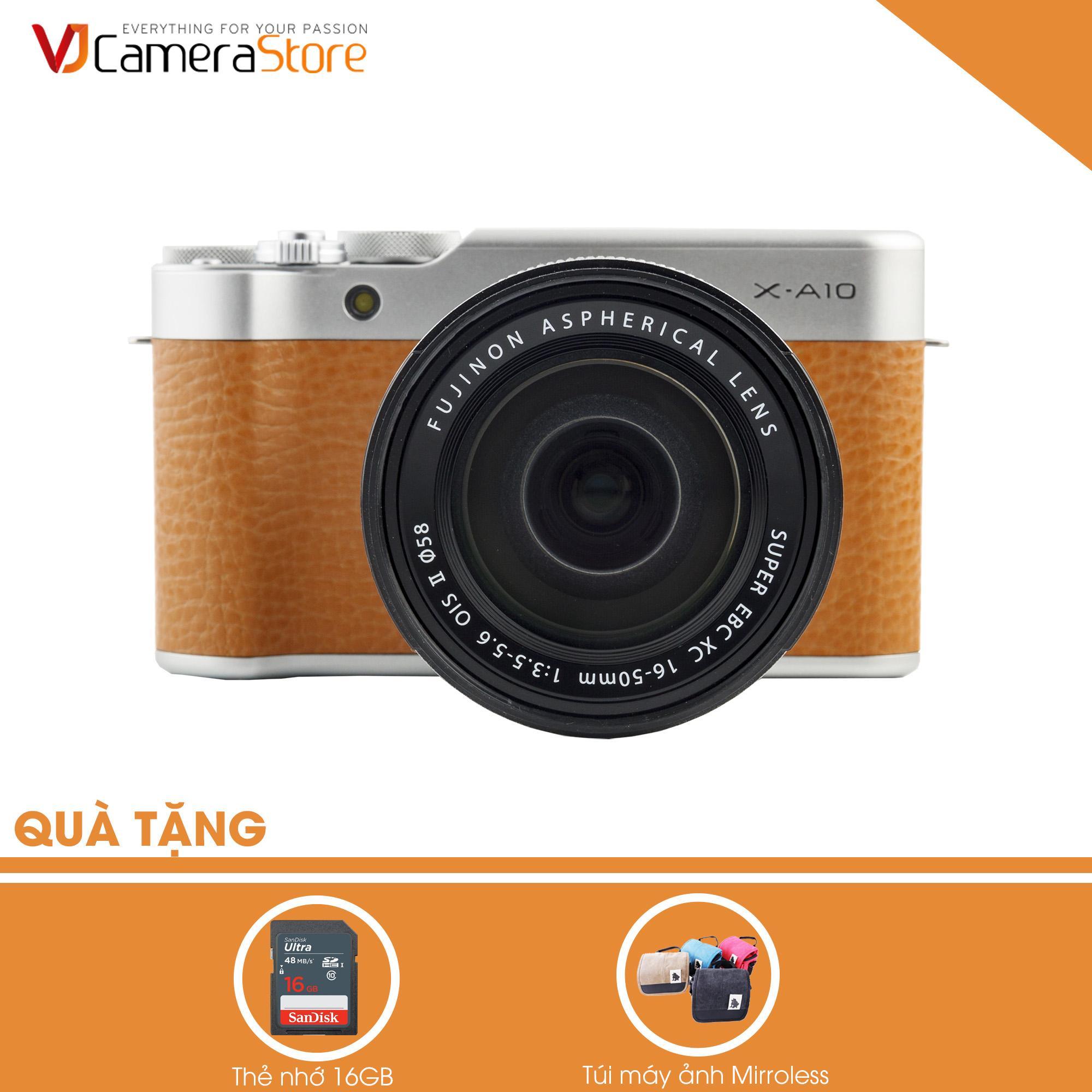 Cửa Hàng Fujifilm X A10 Nau Lens Kit Xc 16 50Mm F3 5 5 6 Ois Ii Hang Phan Phối Chinh Hang Tặng Kem 1 Thẻ 16Gb Tui Mirroless Fujifilm Trực Tuyến
