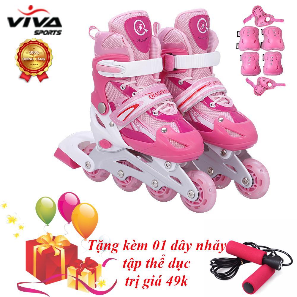 Bán Bộ Giay Trượt Patin Phat Sang Banh Cao Cấp Size L Đồ Bảo Hộ Viva Sport Tặng Kem 1 Day Nhảy Hồ Chí Minh Rẻ