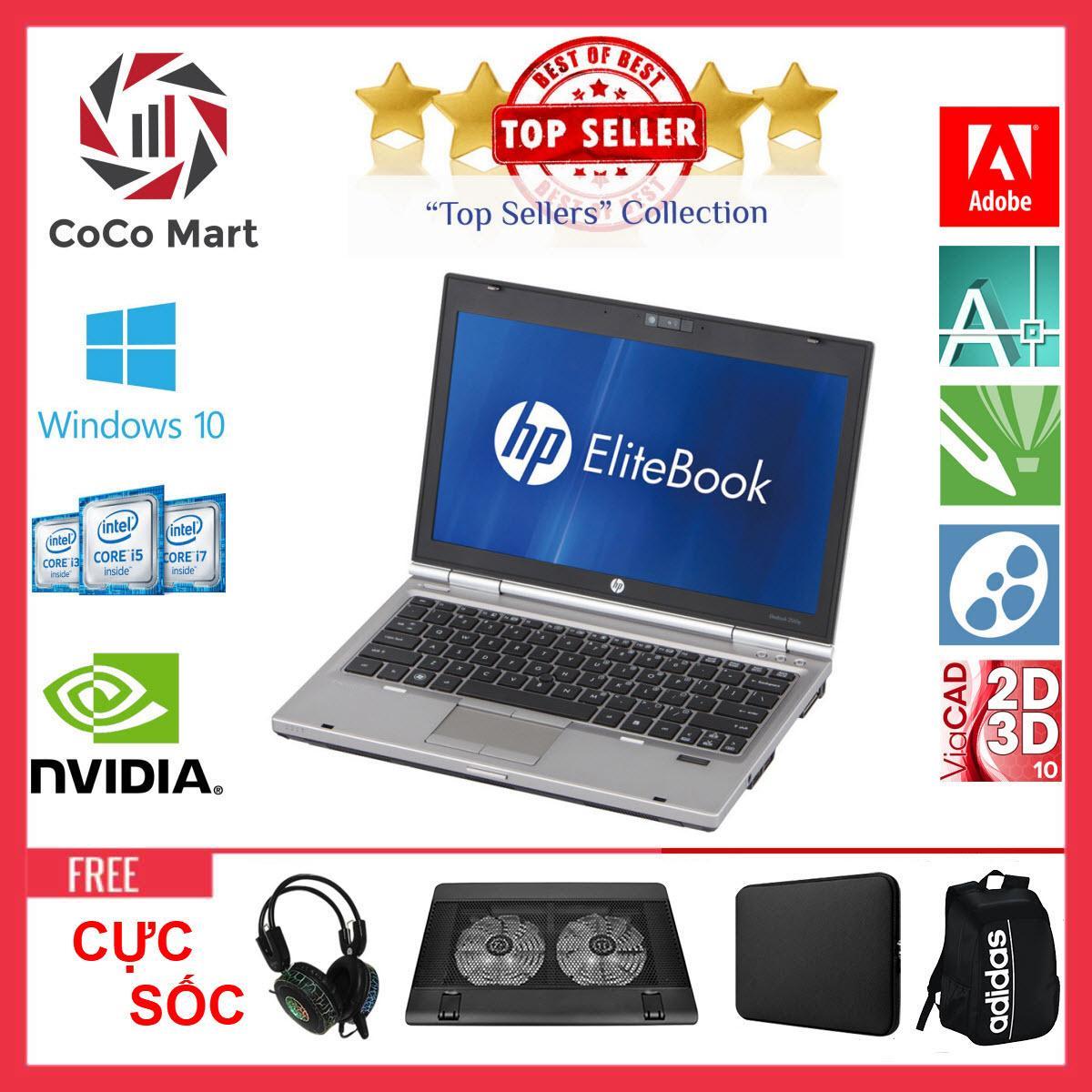 Laptop HP EliteBook 2560p Chạy CPU i5-2520M, 12.5inch, 4GB, HDD 500GB + Bộ Quà Tặng - Hàng Nhập Khẩu