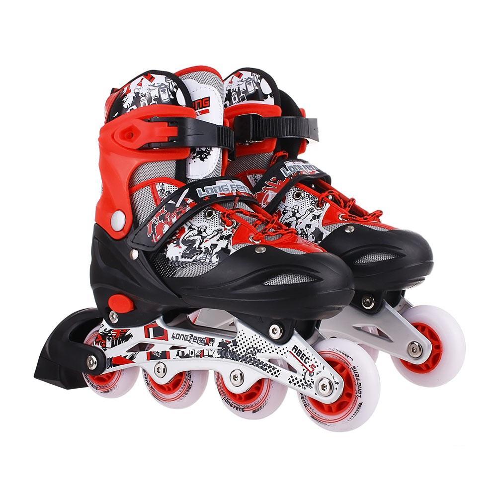 Giày trượt Patin Long Feng 906 - Hồng, xanh, đỏ