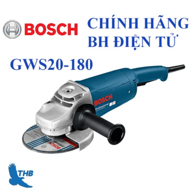 Máy mài góc lớn Bosch GWS 20-180 + Phụ kiện