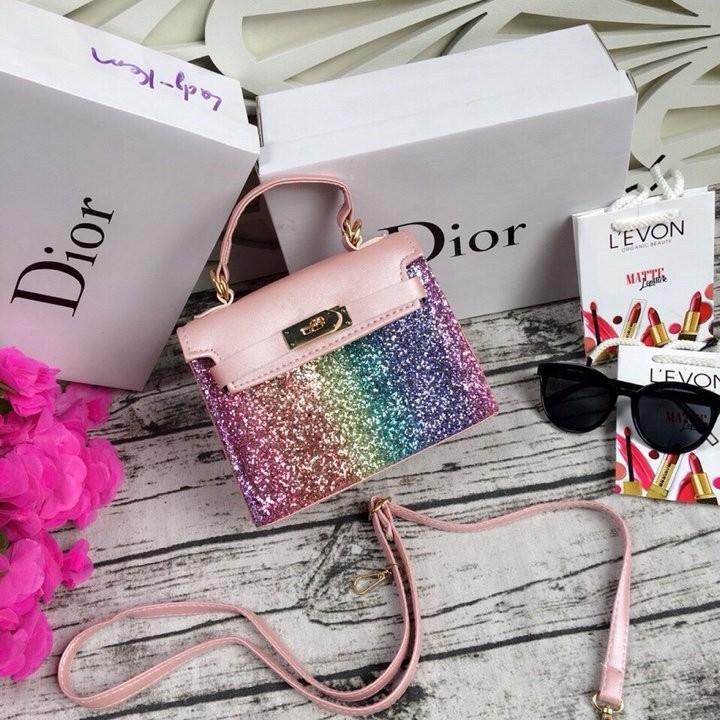 Túi xách kim tuyến HRM thời trang