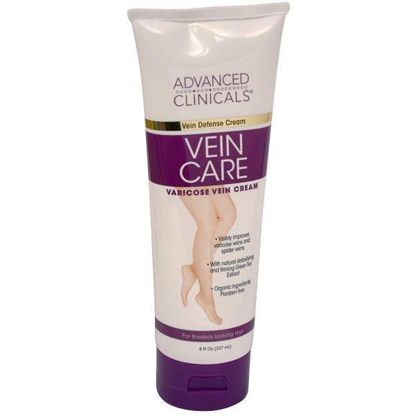 Kem giãn tĩnh mạch Advanced Clinicals Vein Care Varicose Veins 237ml