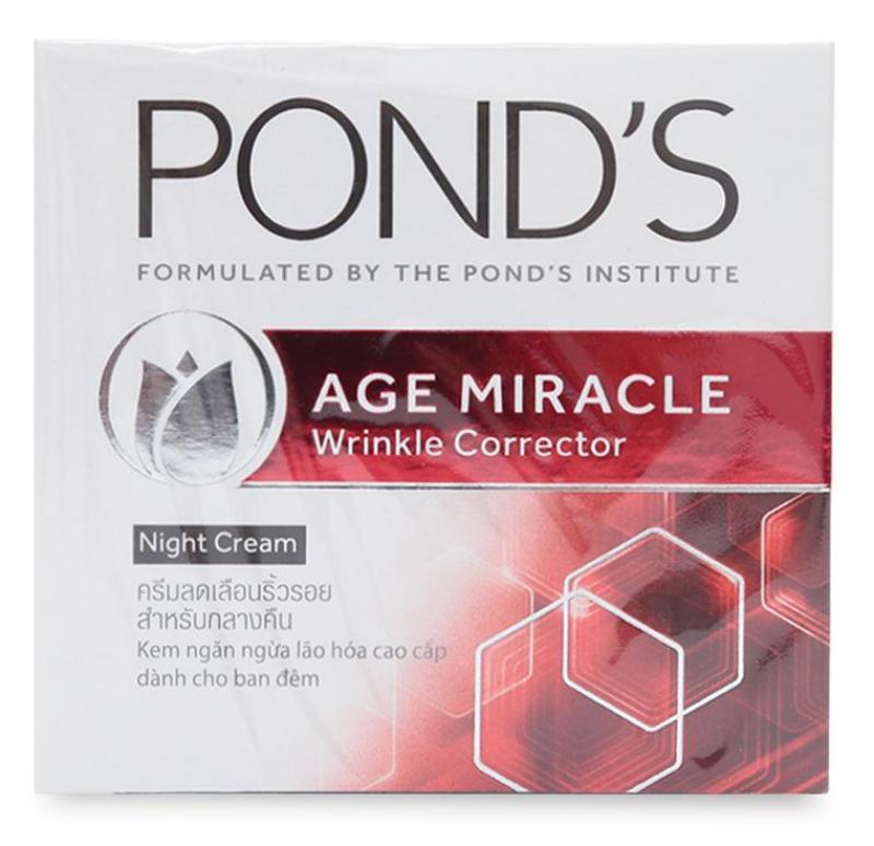 Kem chống lão hóa Ponds Age Miracle ban đêm 50g nhập khẩu