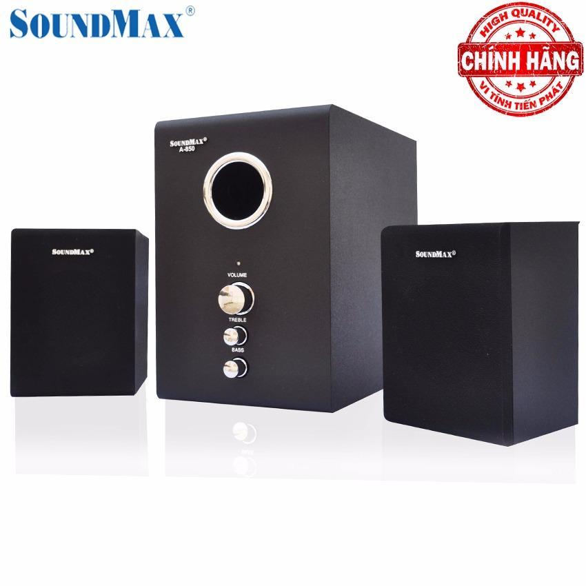Giá Bán Loa Vi Tinh Soundmax A850 2 1 Đen Soundmax Mới