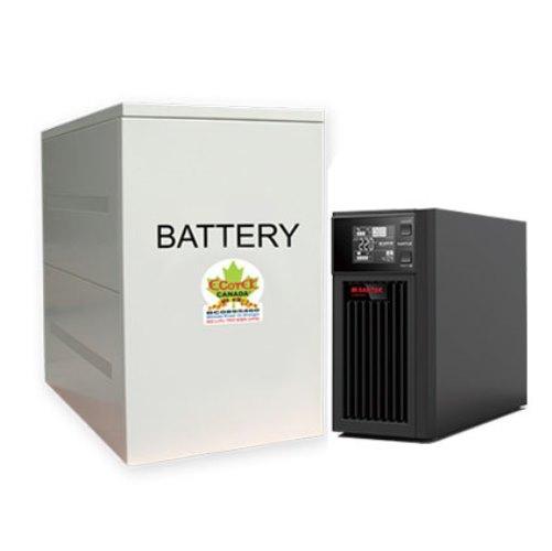 Hình ảnh Bộ lưu điện 1KVA UPS SANTAK True Online C1KS_LCD