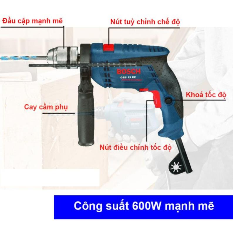 Máy khoan động lực-Máy khoan Bosch 13Re