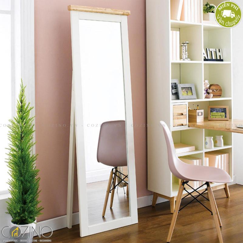 Gương soi Canna gỗ tự nhiên