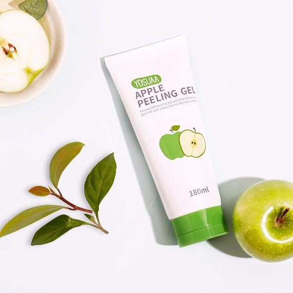 Gel tẩy tế bào chết, kiểm soát dầu Yosuaa Apple Peeling Gel 180ml