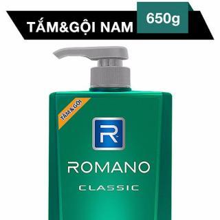 Tắm Gội 2 In 1 Romano Classic 650G thumbnail