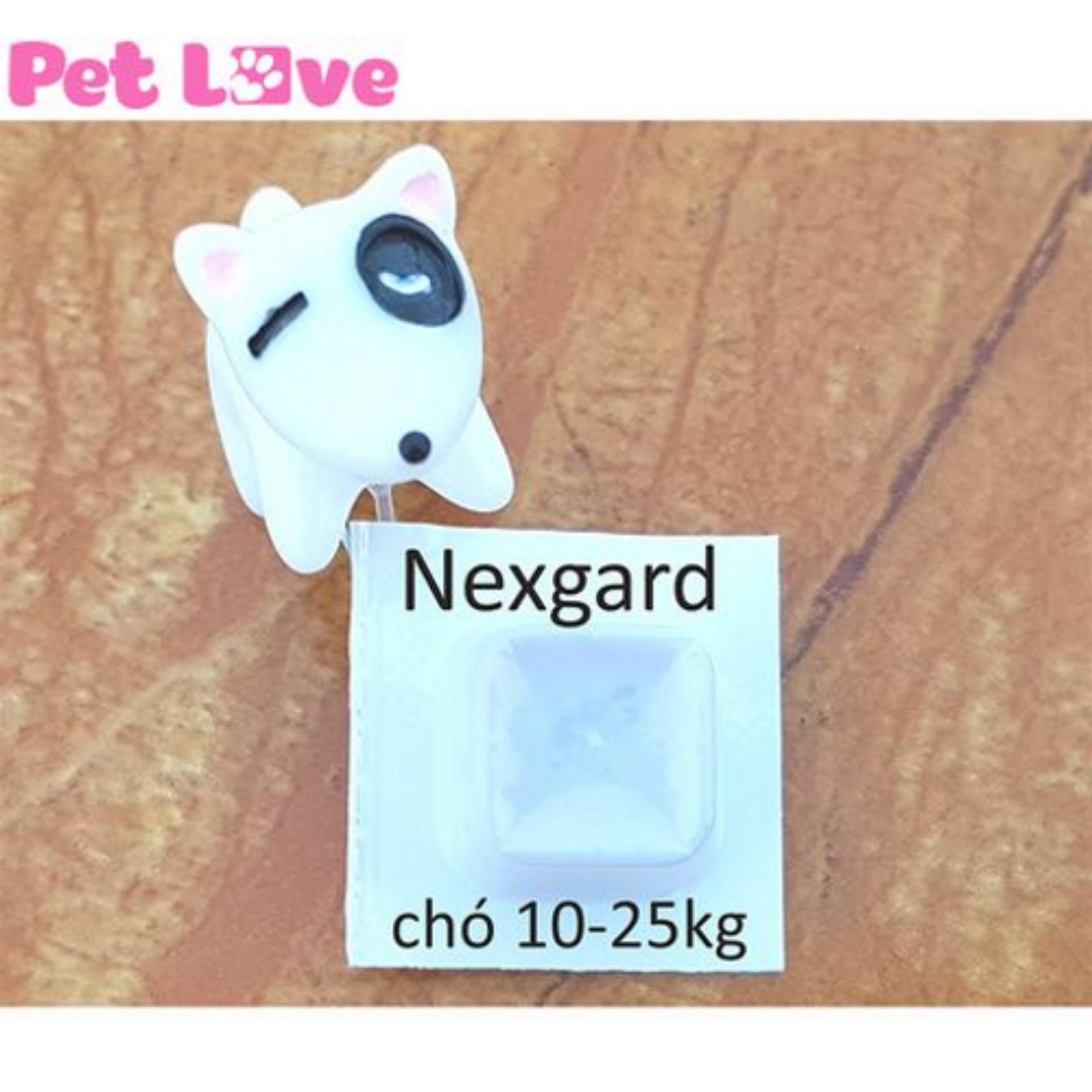 Hộp thuốc NexGard trị ve 10-25kg