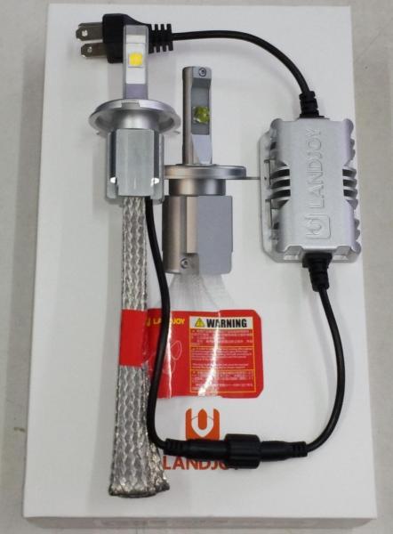 Chân H4 - Vàng  4300k - 1 Bóng đèn Led Cree XHP70 L9 phiên bản mới nhất của XHP70 L8 và XHP70 L7
