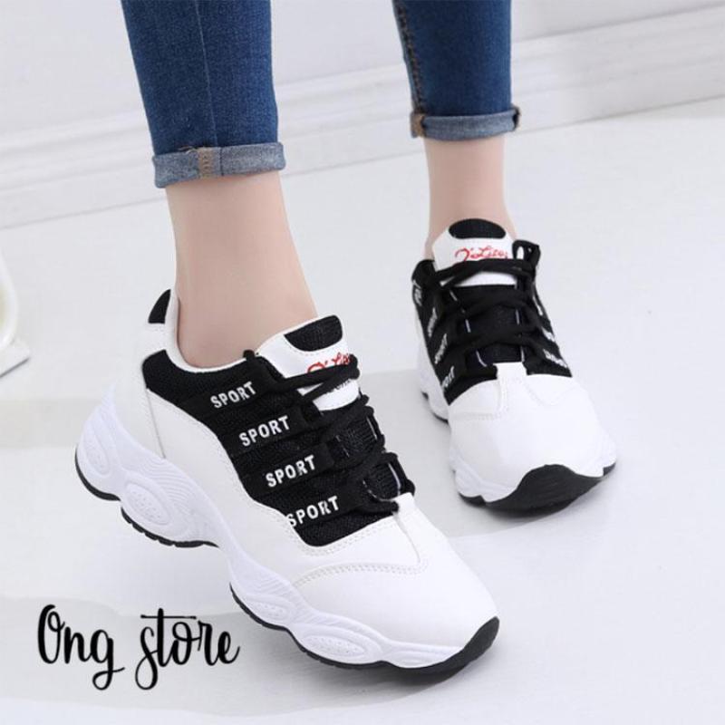 Giày thể thao nữ kiểu dáng Hàn Quốc (SPORT)