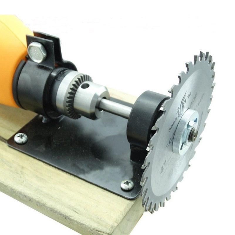 bán máy cắt gỗ cầm tay, máy cắt đa năng mini, Bộ phụ kiển chuyển đổi máy khoan thành máy cắt, máy cưa gỗ siêu tiện lợi.