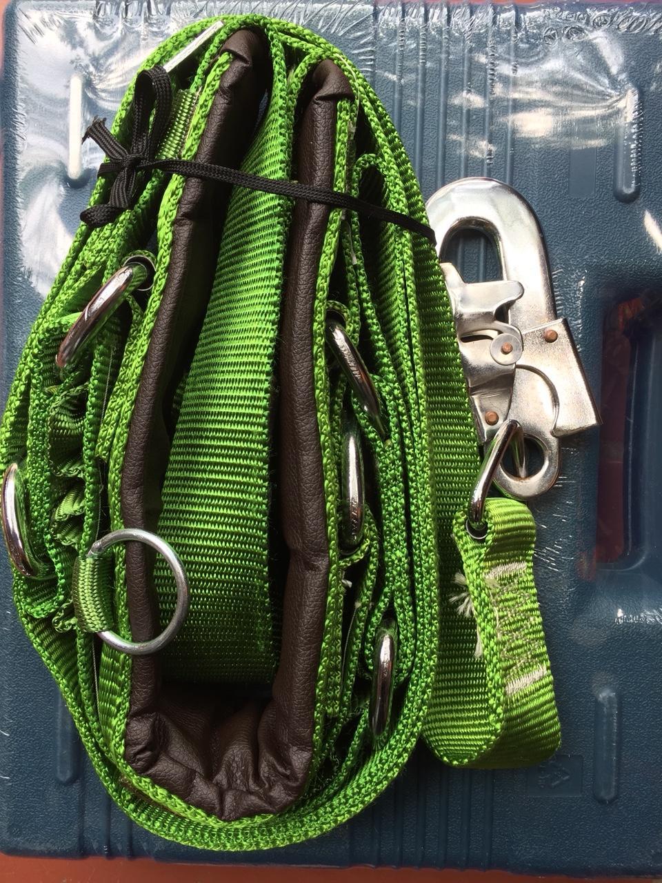 Dây an toàn lao động có ghế ngồi, dây an toàn trèo cột điện, dây bảo hiểm leo núi, dây bảo hiểm leo cây