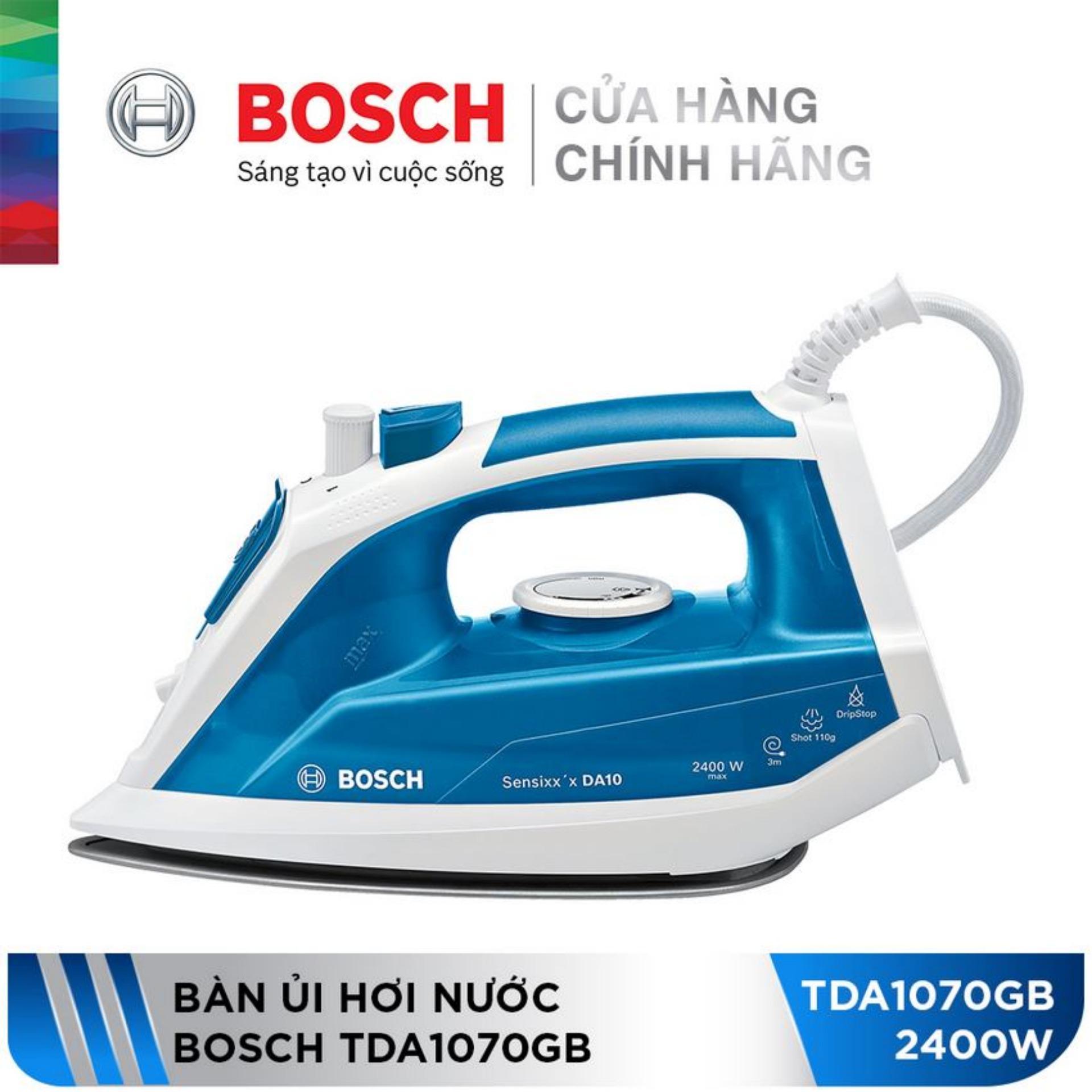 Bàn ủi hơi nước Bosch TDA1070GB (2400W)