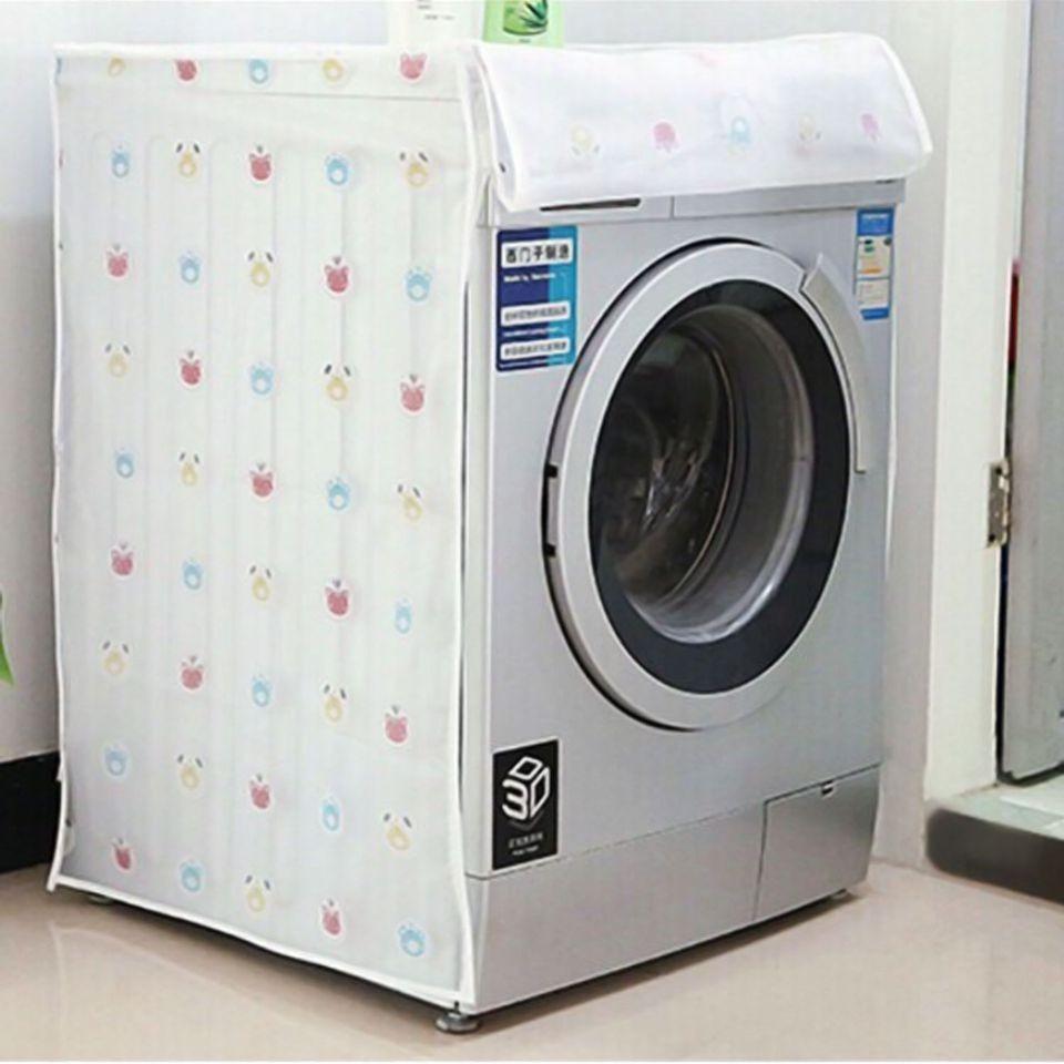Vỏ bọc máy giặt cửa ngang bằng nhựa mền không thấm nước