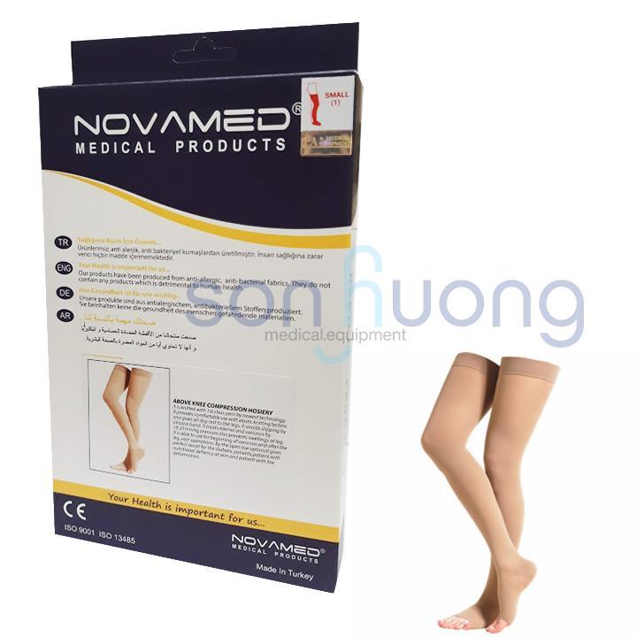Vớ y khoa đùi tĩnh mạch Novamed Size S