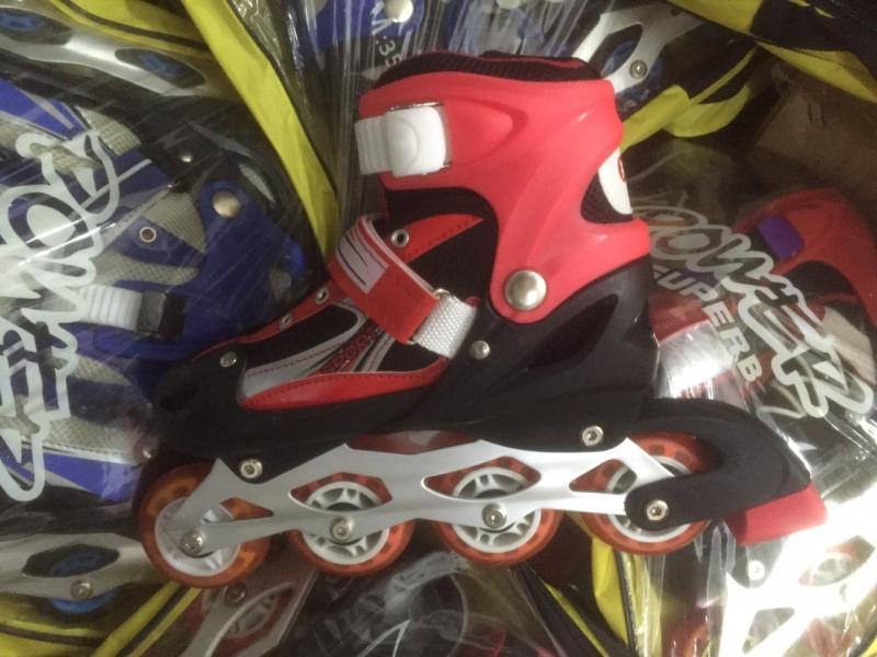 Phân phối giầy trượt patin phát sáng cao cấp + tặng 1 bộ bảo vệ + 1 túi sách