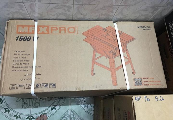 Máy cưa bàn Maxpro MPBTS254L