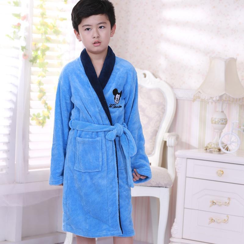 Nơi bán Loại Dài Dày Trẻ Em Đồ Ngủ Áo Choàng Tắm