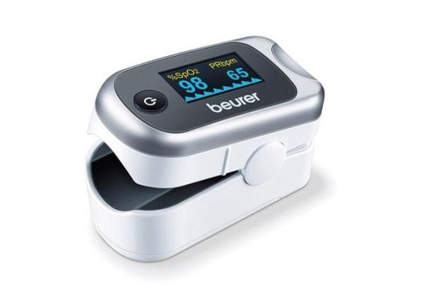 Máy đo khí máu và nhịp tim cá nhân Beurer PO40 bán chạy