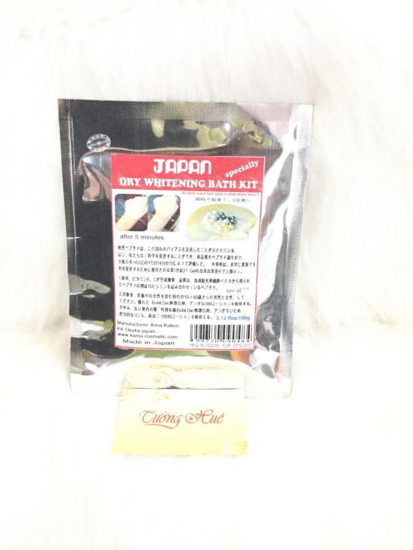 Tắm Trắng Khô Ủ Body Siêu Trắng Nhật - 100g nhập khẩu