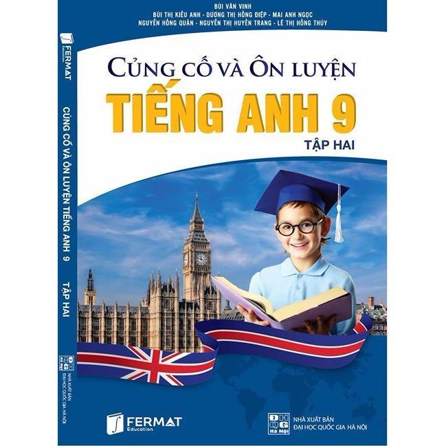 Mua Củng cố và ôn luyện Tiếng Anh 9 tập II