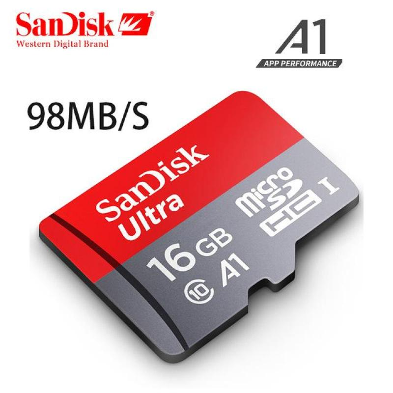 Thẻ nhớ 16G SanDisk Ultra Class 10 A1 98Mb/s - Bảo hành 5 năm