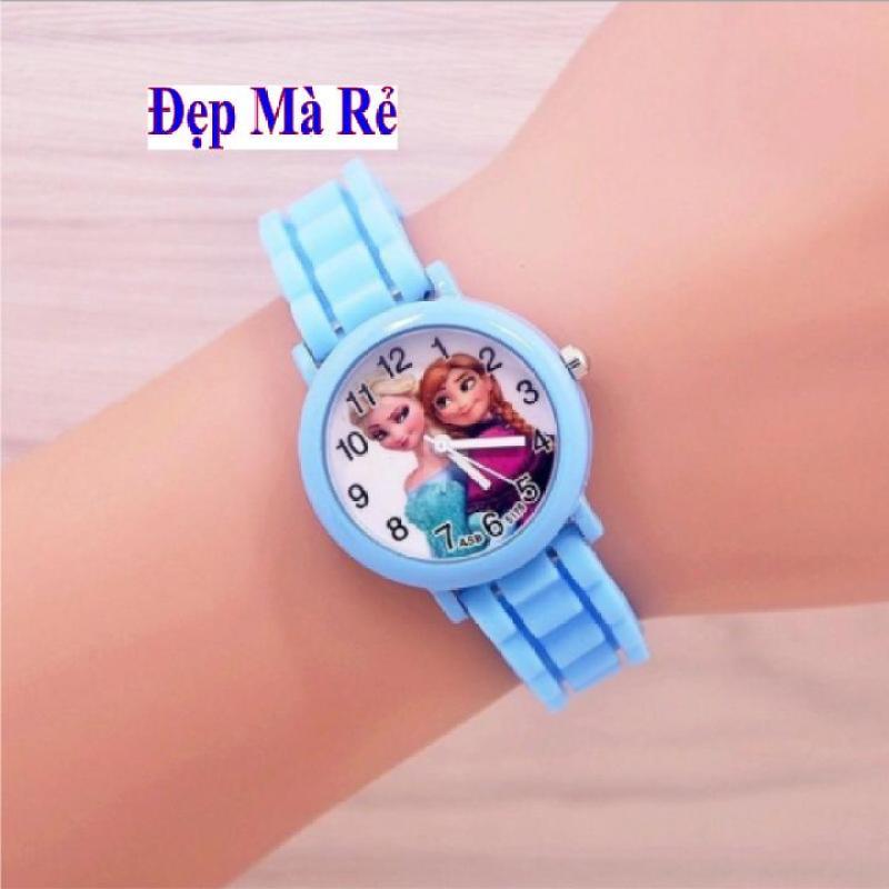 Đồng Hồ Trẻ Em Elsa Và Anna Chống Nước 3 ATM - DH2018100005050099 bán chạy