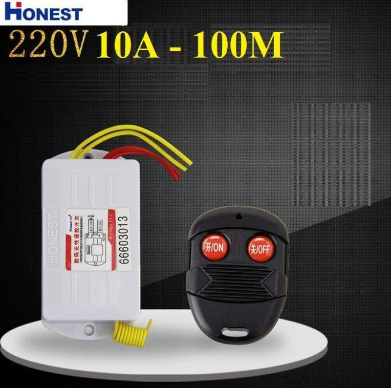 Công tắc điều khiển từ xa Honest công suất lớn 10A/220V khoảng cách 10-100M (6805WA-220V)