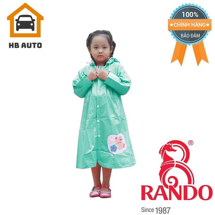 Giá bán Áo mưa trẻ em Mèo con Rando CPPS-13 Size 3 1.05 – 1.2 m