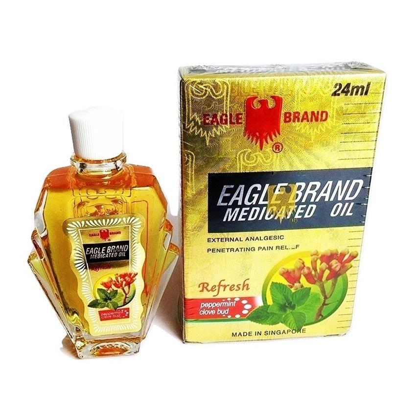 Dầu Gió Eagle Brand Con Ó 24ml (Vàng-Đinh Hương)