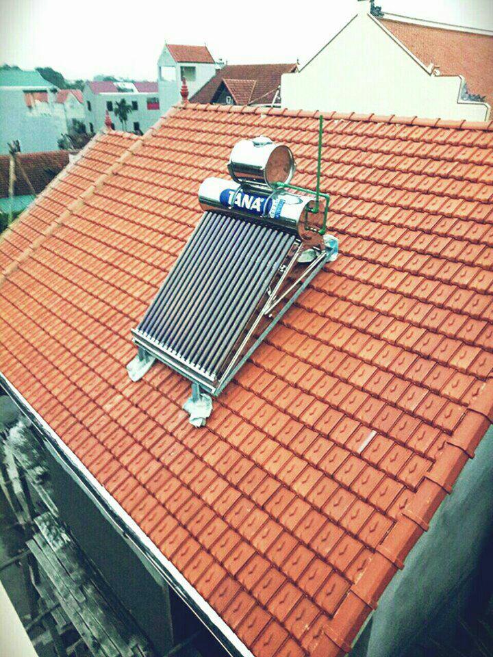 Hình ảnh Máy nước nóng năng lượng mặt trời Tân Á Gold