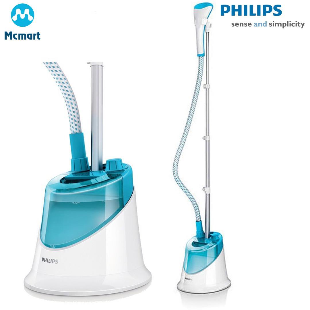 Hình ảnh Bàn ủi hơi nước đứng Philips GC502 (Xanh) - Hàng nhập khẩu