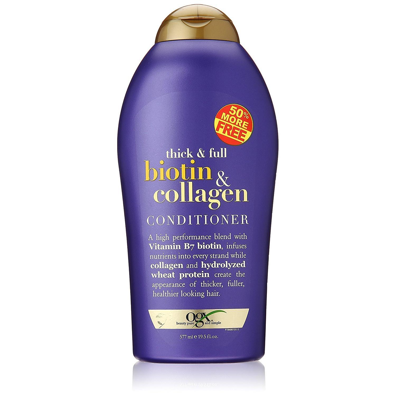 Dầu xả chống rụng tóc OGX Biotin Collagen Conditioner 577ml Nội Địa Mỹ