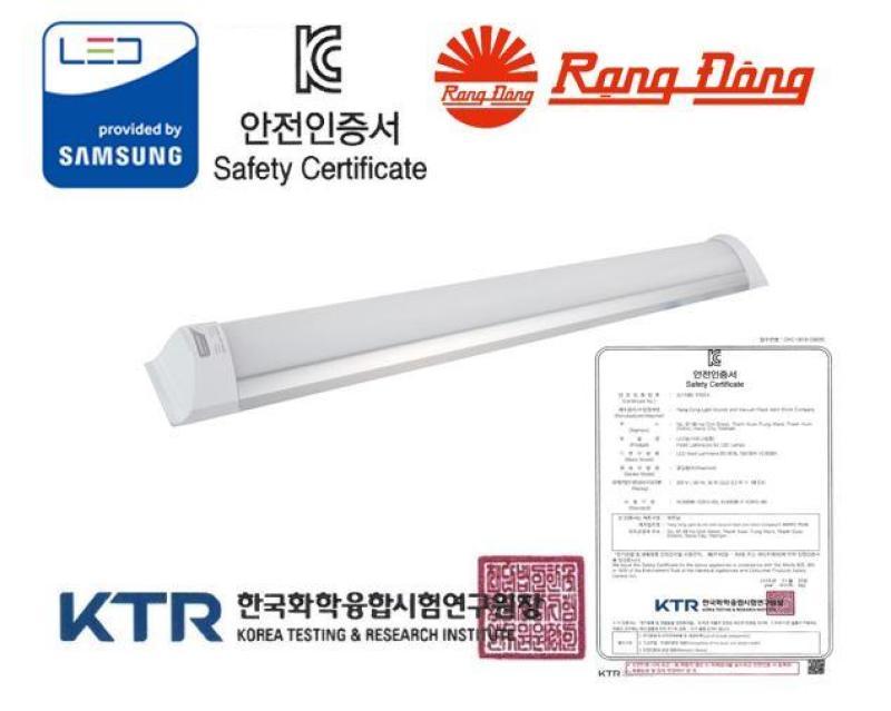 [Lấy mã giảm thêm 30%]Đèn LED bán nguyệt Rạng Đông 18W 60 cm Chứng nhận KC Korea ChipLED Samsung 2 năm bảo hành Mới