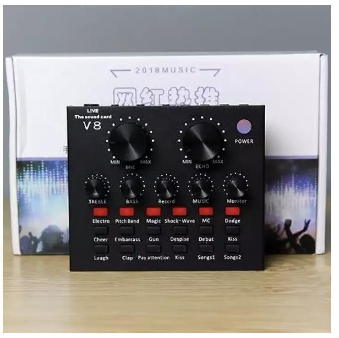 Hình ảnh sound card v8