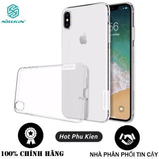 Ốp lưng dẻo iPhone XS MAX (6.5 inch) Nillkin mỏng 0.6 mm (Trong Suốt) - Phân phối HotPhuKien thumbnail