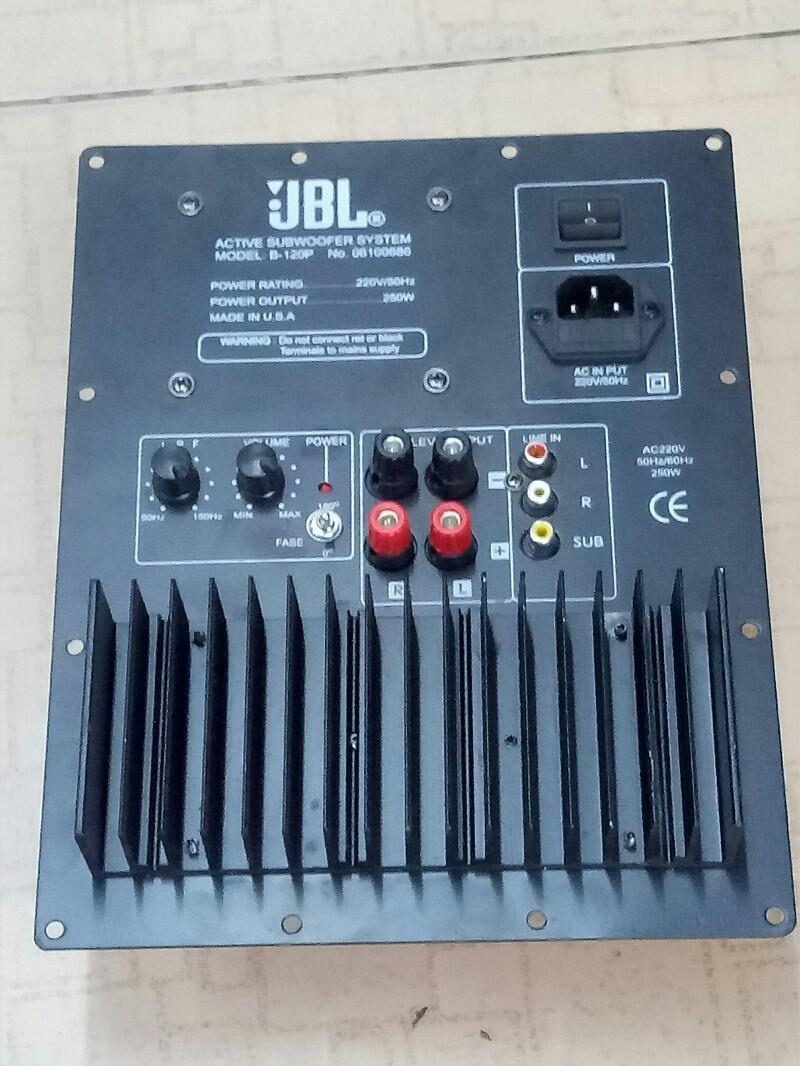 Hình ảnh Bộ mạch loa Sub điện âm thanh 250W