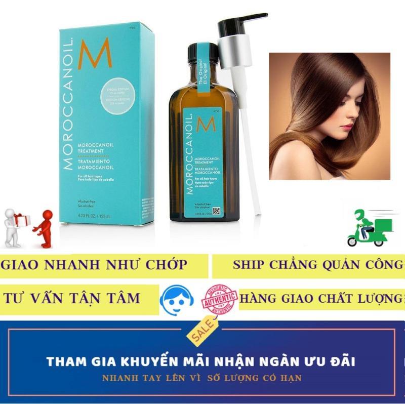 Tinh dầu DƯỠNG và PHỤC HỒI hư tổn tóc khô xơ Moroccanoil (Moroccan oil) Treatment (100 ml) giá rẻ