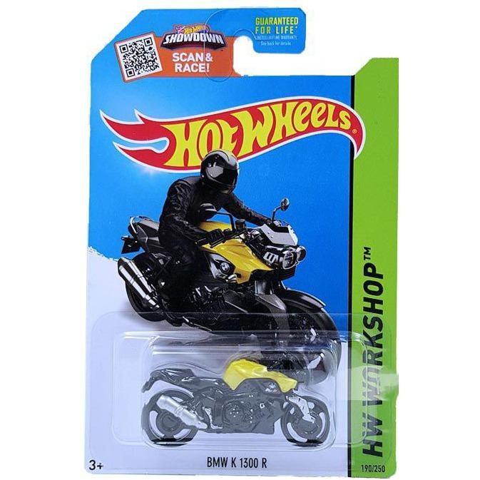 Giá Bán O To Mo Hinh Tỉ Lệ 1 64 Hot Wheels Bmw K 1300 R 190 250 Mau Vang Rẻ