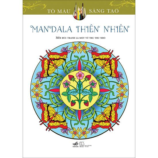 Mua Sách tô màu - Mandala thiên nhiên