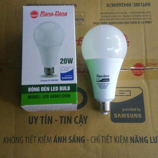 Bóng đèn LED BÚP 20W RẠNG ĐÔNG Siêu Sáng