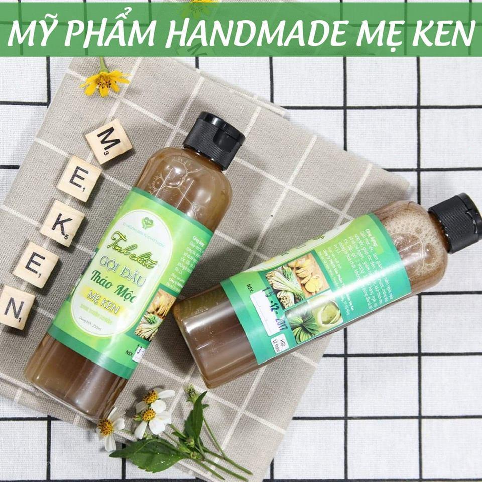 Dầu gội thảo dược Mẹ Ken Trị rụng tóc, trị gàu, nấm ngứa da dầu, nuôi dưỡng tóc chắc khỏe