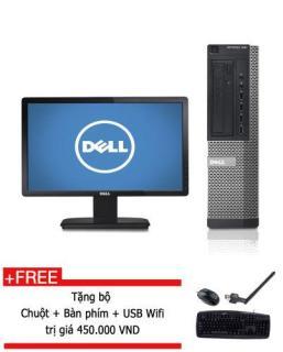 [Trả góp 0%]Máy tính Đông bộ Dell Optiplex 390 Core i5 2500 RAM 8GB 500GB HDD màn hình DELL 20 inch + Tặng bộ Bàn phím chuột USB wifi - Hàng nhập khẩu thumbnail